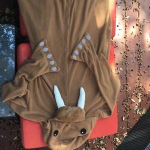 Adult onsie walrus costume
